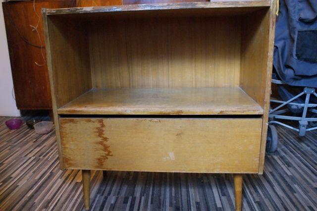 komoda mała komódka szafka barek prl retro wysyłka vintage stara