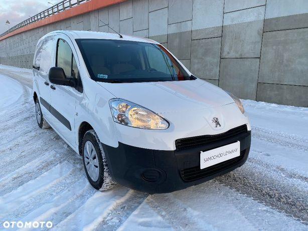 Peugeot PEUGEOT PARTNER VAN 1.6 HDI 92 KM  Peugeot Partner VAN 1.6 HDI 92 KM Polski Salon Bezwypadkowy Serwisowan