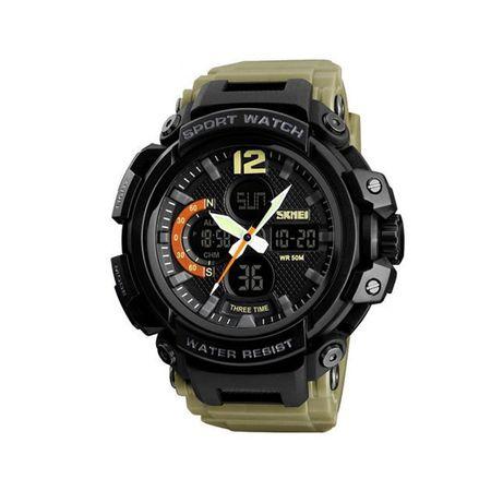 Часы Skmei 1343BOXKH Khaki BOX