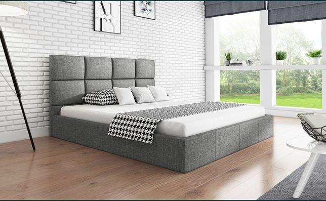 Łóżko tapicerowane z podnoszonym stelażem 120/140/160/180x200 WIKI