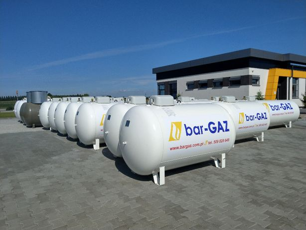 Zbiornik na gaz propan, propan-butan, LPG 2700L VPS