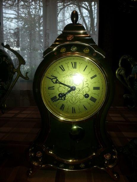 zegar stojący kominkowy syg Boulle