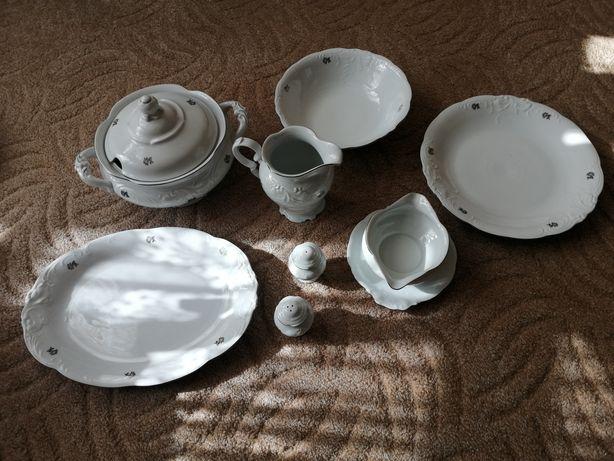 Super Zestaw Obiadowy Porcelana / PRL / Wawel