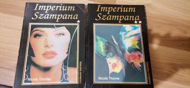 Imperium szampana. Nicola Thorne