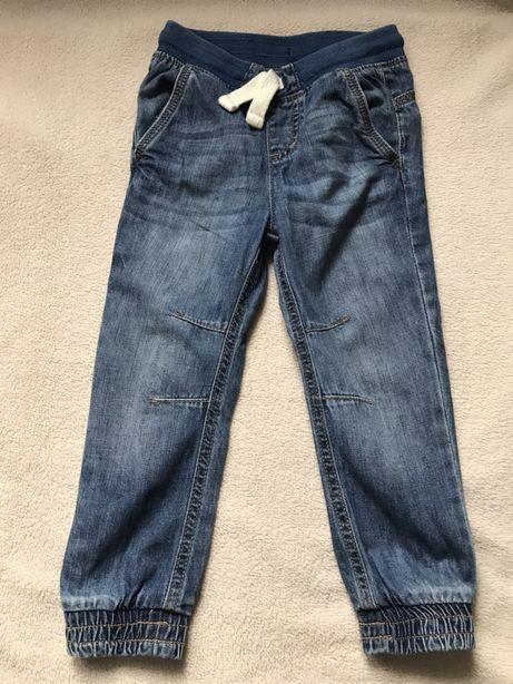 KappAhl Lab Industries spodnie joggery jeansy rozm. 98