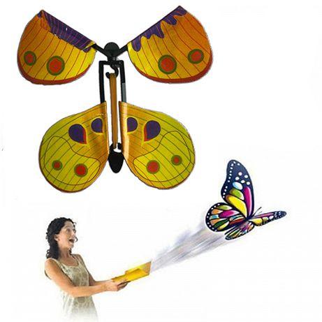 Летающая бабочка открытка вкладыш сюрприз в открытку