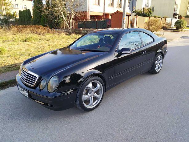 """Mercedes CLK * GAZ nowy * 2000R lift alu 18"""" radio DVD klima Xenon"""