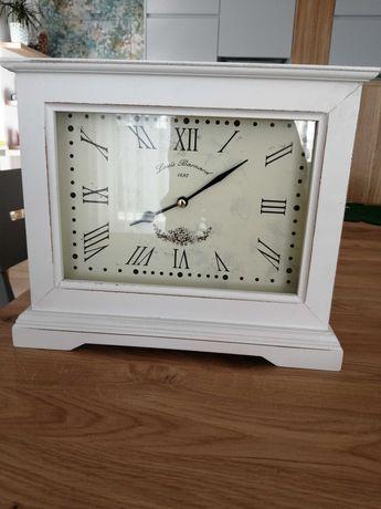 Zegar stojący biały