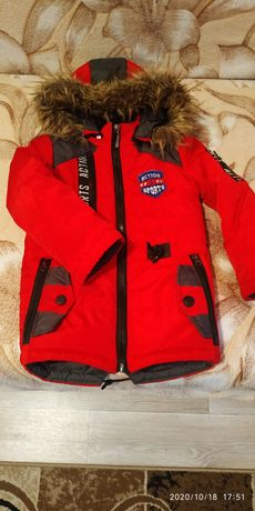 Зимня курточка на мальчика