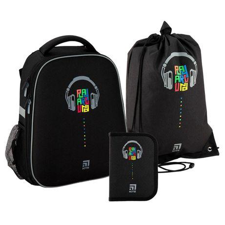 Набор рюкзак + пенал + сумка для обуви Kite 531 Playaround K20-531M-1