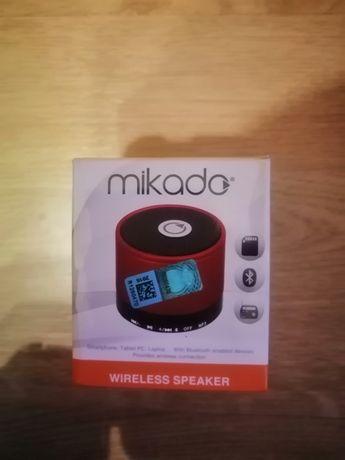 Głośnik bezprzewodowy Bluetooth do smartfona, radio, slot SD, mikrofon