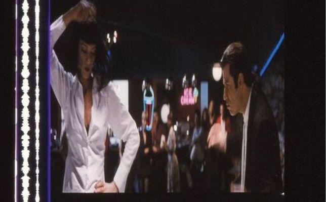 Fotogramas em película do filme PULP FICTION
