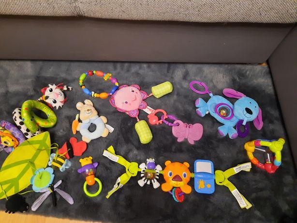 Zabawki grzechotki gryzak dla maluszka