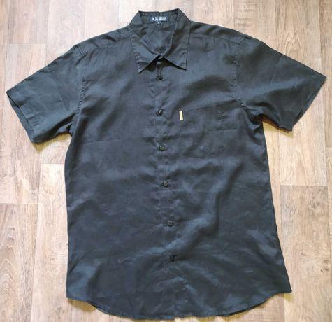 Рубашка с коротким рукавом Armani jeans, M