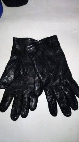 Перчатки кожа, размер 7.5