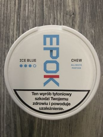 Pudelka po snus Epok Ice Blue #3