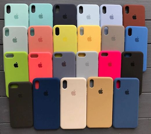 Чехол Silicone Case iPhone 6s/7/7 Plus/8/XS/XR/10•Apple айфон