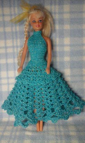 Платье для куклы Барби