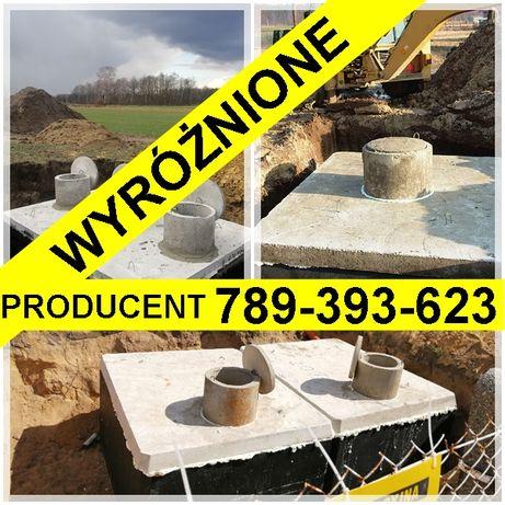 SZAMBO betonowe 12m3 jednokomora ZBROJONE PPOŻ Kij TURÓW Wohyń Biała