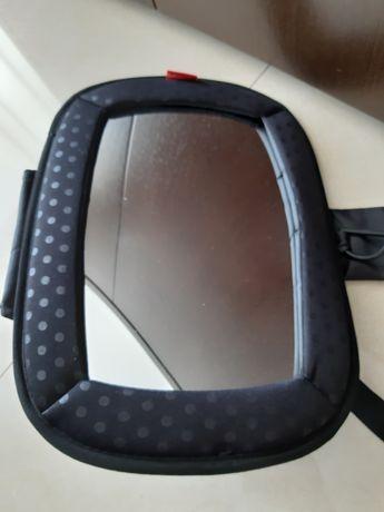 Espelho retrovisor para ver bebé no carro