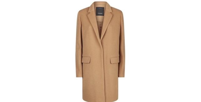 Пальто Pinko размер М-Л, бежевое шерстяное италия liu jo sandro maje
