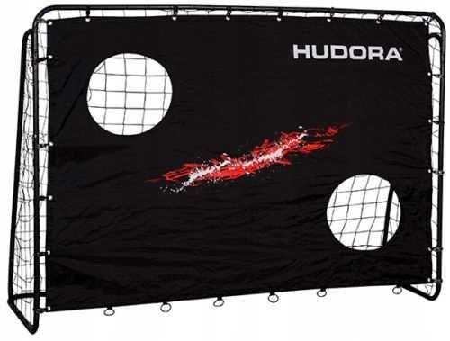 Bramka HUDORA 213x152cm *NOWA *składana + mata celnościowa.