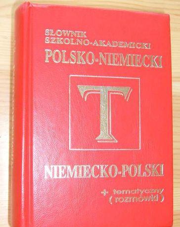 Słownik szkolno-akademicki polsko-niemiecki
