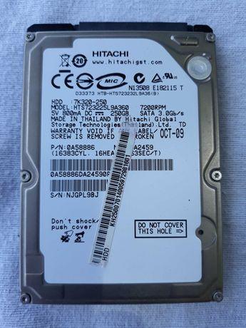 disco rigido para portatil 250 gb,impecavel