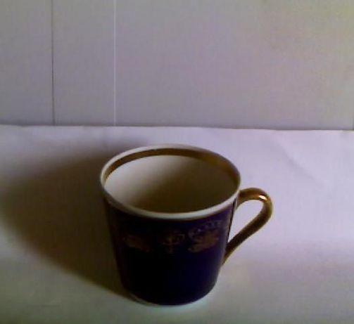 Чашка кофейная коллекционная с кобальтовым покрытием 200 мл.