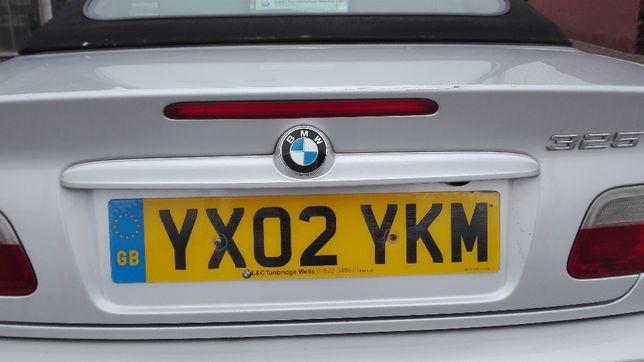 Blenda listwa podświetlenie tablicy BMW E46 Cabrio