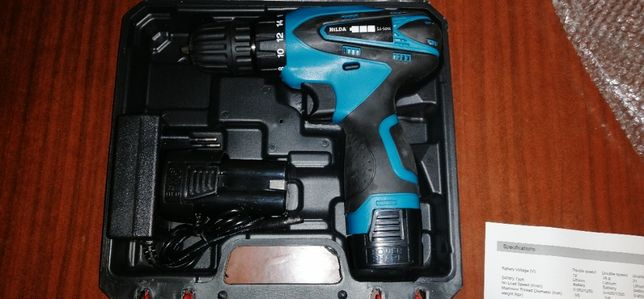 Шуруповерт Hilda 16.8v (+ запасной аккумулятор)