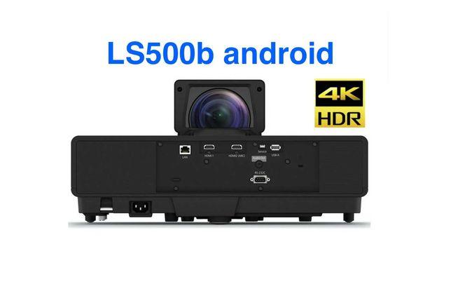 Проектор 4K Epson EH-LS500B android лазерный новый в пленках Европа