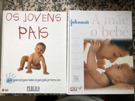 Conjunto livros maternidade e joves pais