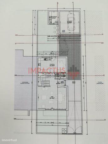 Moradias T3 em construção em Alfena