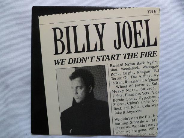 """Billy Joel """"We Didn't Start The Fire"""" 7"""" single"""