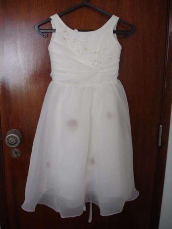Vestido para Batizado e Festas 3 a 4 Anos