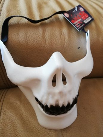 Maska kosciotrup karnawał halloween