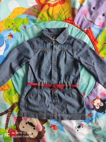 Шикарное джинсовое платье zara
