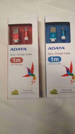 ADATA kabel USB typ-A Niebieski Czerwony NOWY