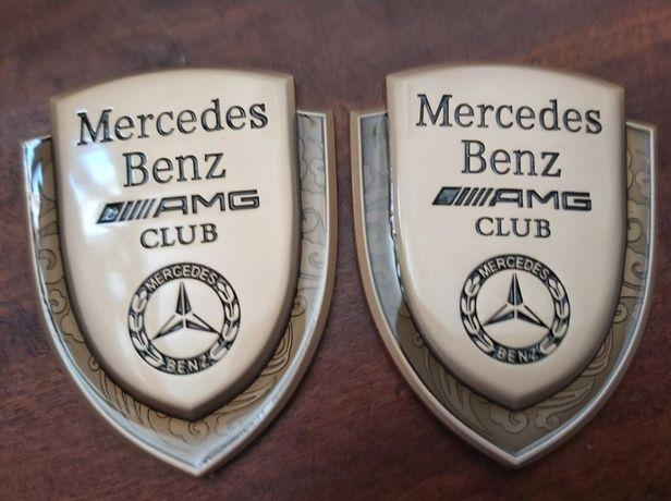 2x Crachás Mercedes AMG