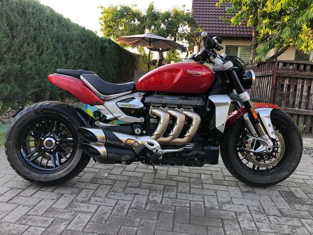 Triumph Rocket 3R, 2020 r, FV23%,salon PL