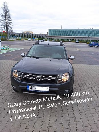 Dacia Duster 2014, 1.6 16V 105 OKAZJA Fab Gaz, I Wlaściciel, PL Salon