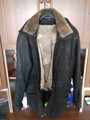 Куртка чоловіча кожана натуральна шкіра