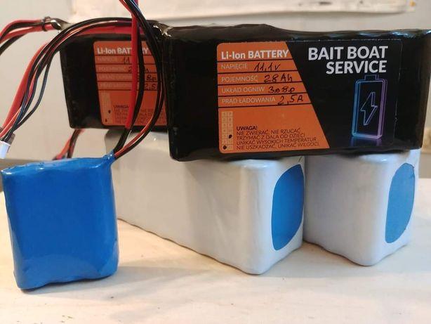 Pakiety Li ion baterie łódka zanętowa echosonda
