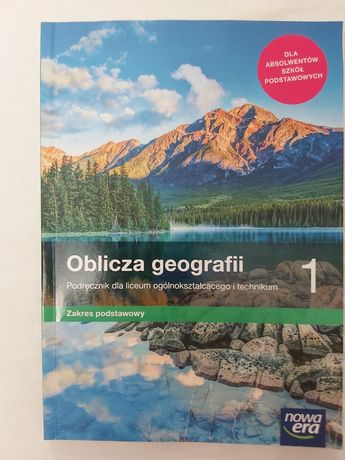 Oblicza geografii podręcznik dla liceum i technikum zakres podstawowy