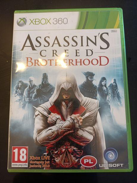 Assassin's Creed Brotherhood PL Xbox 360