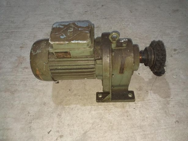 Мотор-редуктор 0,4 квт, 16 об/мин, ГДР, VEB, МЦ, германский