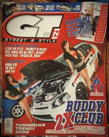 GT Maxi Tuning Auto Tuning Świat Magazyn wiele numerów czasopismo