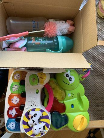 Avent бутылочка музыкальные игрушки, непроливайка