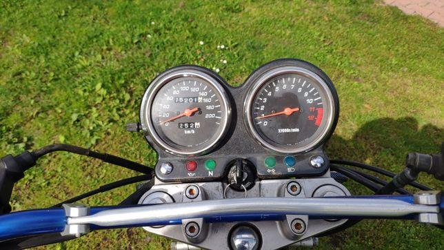 Motocykl szosowo-turystyczny GS 500